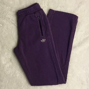 🆓 with purchase 🌟 Adidas purple track pants